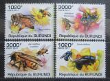 Poštovní známky Burundi 2011 Včely Mi# 2002-05 Kat 9.50€