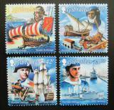 Poštovní známky Gibraltar 1999 Dějiny námořnictva Mi# 871-74 Kat 8€