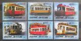 Poštovní známky Guinea-Bissau 2005 Tramvaje Mi# 3016-21