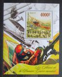 Poštovní známka Benin 2015 Letadlo Sikorsky S.16 Mi# N/N