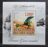 Poštovní známka Benin 2015 Letadlo Junkers J.1 Mi# N/N