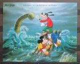 Poštovní známka Antigua 1996 Disney postavičky Mi# Block 346