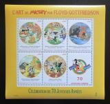 Poštovní známky SAR 1999 Disney, Micky Mouse Mi# 2121-25