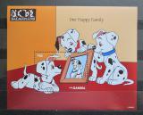 Poštovní známka Gambie 1997 Disney, 101 dalmatýnů Mi# Block 341 Kat 9.50€