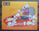 Poštovní známka Gambie 1997 Disney, 101 dalmatýnů Mi# Block 344 Kat 9.50€