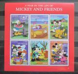 Poštovní známky Ghana 1998 Disney postavičky Mi# 2691-96
