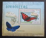 Poštovní známka Mosambik 2007 Motýli Mi# 2923 Block