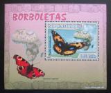 Poštovní známka Mosambik 2007 Motýli Mi# 2924 Block