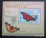 Poštovní známka Mosambik 2007 Motýli Mi# 2925 Block
