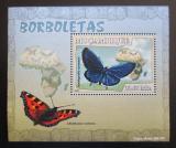 Poštovní známka Mosambik 2007 Motýli Mi# 2926 Block