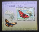 Poštovní známka Mosambik 2007 Motýli Mi# 2927 Block