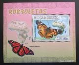 Poštovní známka Mosambik 2007 Motýli Mi# 2922 Block