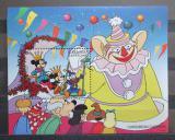 Poštovní známka Grenada Gren. 1996 Disney, Karibský karneval Mi# Block 347 Kat 7€