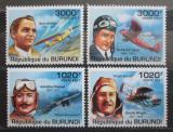 Poštovní známky Burundi 2011 Historie letectví Mi# 2210-13 Kat 9.50€