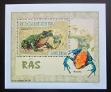 Poštovní známka Mosambik 2007 Žáby DELUXE Mi# 2957 Block