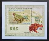 Poštovní známka Mosambik 2007 Žáby DELUXE Mi# 2959 Block