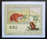 Poštovní známka Mosambik 2007 Žáby DELUXE Mi# 2960 Block
