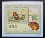 Poštovní známka Mosambik 2007 Žáby DELUXE Mi# 2961 Block