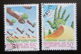 Poštovní známky Horní Volta 1980 Rekultivace Sahary Mi# 793-94