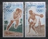 Poštovní známky Horní Volta 1972 LOH Mnichov Mi# 365-66