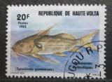 Poštovní známka Horní Volta 1983 Synodontis gambiensis Mi# 904
