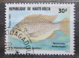 Poštovní známka Horní Volta 1983 Pelmatochromis guentheri Mi# 905
