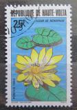 Poštovní známka Horní Volta 1982 Vodní růže Mi# 871