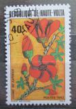 Poštovní známka Horní Volta 1982 Květiny Mi# 872
