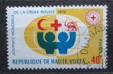 Poštovní známka Horní Volta 1972 Den Červeného kříže Mi# 369