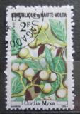 Poštovní známka Horní Volta 1977 Cordia myxa Mi# 671