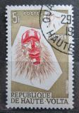 Poštovní známka Horní Volta 1960 Maska Mi# 77