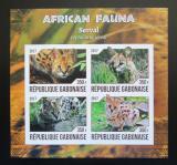Poštovní známky Gabon 2017 Serval neperf. Mi# N/N