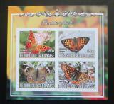 Poštovní známky Gabon 2017 Motýli neperf. Mi# N/N