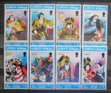 Poštovní známky Adžmán 1971 Japonské divadlo Mi# 971-78
