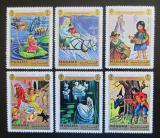 Poštovní známky Manáma 1971 Pohádky, Andersen Mi# 893-98