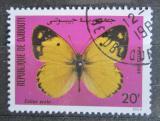 Poštovní známka Džibutsko 1984 Colias erate Mi# 387
