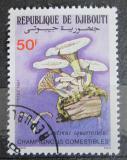 Poštovní známka Džibutsko 1987 Houby Mi# 489