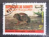 Poštovní známka Džibutsko 1987 Zajíc Mi# 491