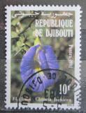 Poštovní známka Džibutsko 1981 Klitoria ternatská Mi# 321