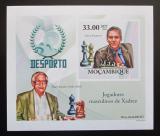 Poštovní známka Mosambik 2010 Slavní šachisti DELUXE neperf. Mi# 3697 B Block
