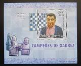 Poštovní známka Guinea-Bissau 2006 Tigran Petrosian, šachy DELUXE Mi# 3448 Block