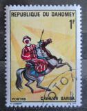 Poštovní známka Dahomey 1970 Jezdec na koni Mi# 431