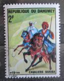 Poštovní známka Dahomey 1970 Jezdci na koni Mi# 432