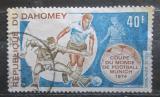 Poštovní známka Dahomey 1973 MS ve fotbale Mi# 540
