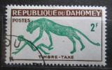 Poštovní známka Dahomey 1963 Panter, doplatní Mi# 33
