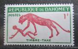 Poštovní známka Dahomey 1963 Panter, doplatní Mi# 32