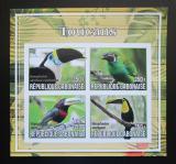 Poštovní známky Gabon 2017 Tukani neperf. Mi# N/N