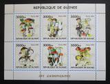 Poštovní známky Guinea 2002 Houby Mi# N/N