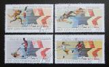 Poštovní známky SAR 1982 LOH Los Angeles Mi# 852-55