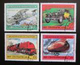 Poštovní známky SAR 1982 Dopravní prostředky Mi# 825-28